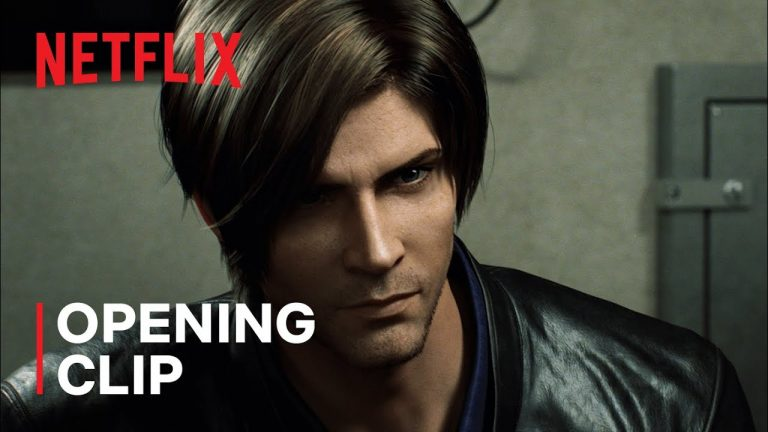 Watch the opening minutes of Netflix's Resident Evil: Infinite Darkness