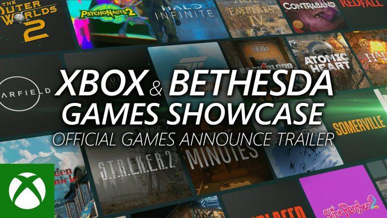 E3 2021 – Everything Announced at the Xbox & Bethesda Games Showcase at E3